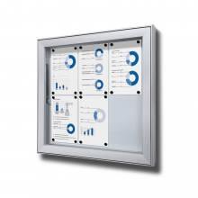 Gablota do użytku zewnętrzenego typu L, format 6xA4