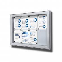Gablota do użytku zewnętrzenego typu L, format 8xA4