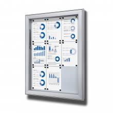 Gablota do użytku zewnętrzenego typu L, format 9xA4