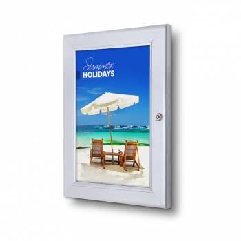 Zamykana rama plakatowa A4 z profilem 37 mm