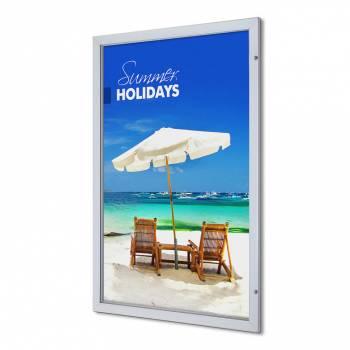 Gablota wewnętrzna na plakat Premium