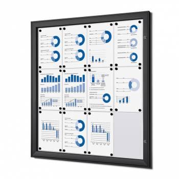 Gablota magnetyczna SCS format 12xA4 czarna