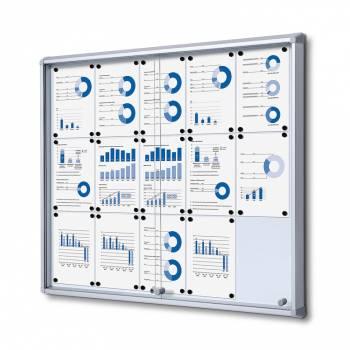 Gablota magnetyczna z przesuwanymi drzwiami 15xA4