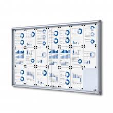 Gablota magnetyczna z przesuwanymi drzwiami 21xA4