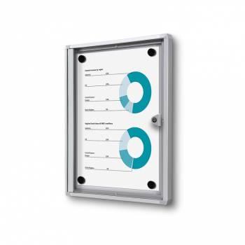 Gablota magnetyczna do użytku wewnętrznego 1xA4 (B1)