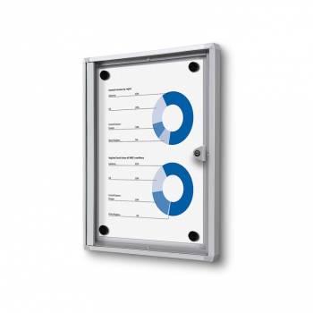 Gablota magnetyczna do użytku wewnętrznego 1xA4