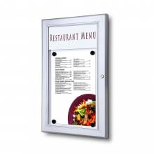 Zewnętrzna gablota na menu 1xA4