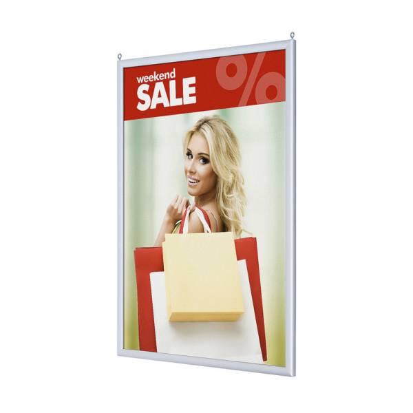 Rama Slide-in Frame 500x700mm , prezentacja dwustronna