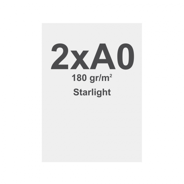 Sublimation print fabric with keder, 841x2378mm, Starlight 180g/m2, B1