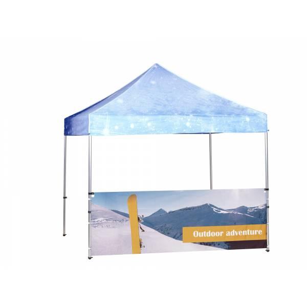 Namiot aluminiowy 3x3 m pół ściany wewnętrznej, kolor