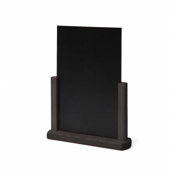Solidne drewniane stojaki na menu A5 ,czarne