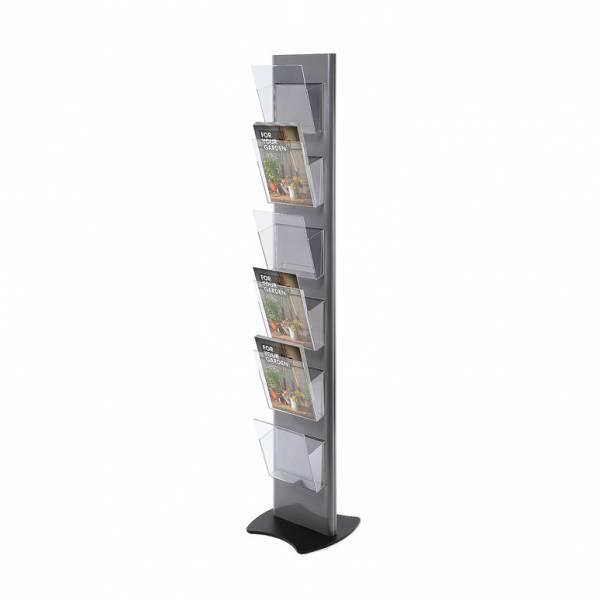 Stojak na ulotki Torre z 6 kieszeniami A4