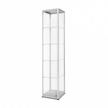 Witryna szklana z oświetleniem LED 400x2000x400mm