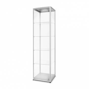 Witryna szklana z oświetleniem LED 500x2000x400mm