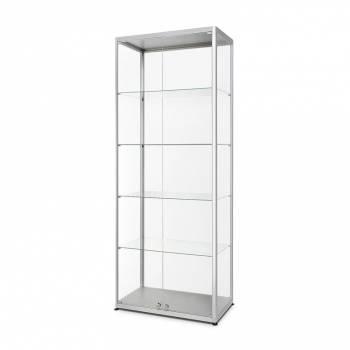 Witryna szklana 800x2000x400mm z podwójnymi drzwiami