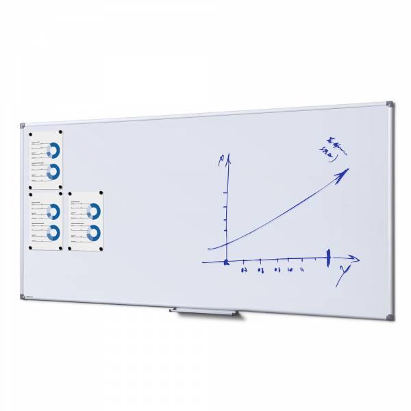 Emaliowana, magnetyczna tablica suchościeralna 90x180 cm