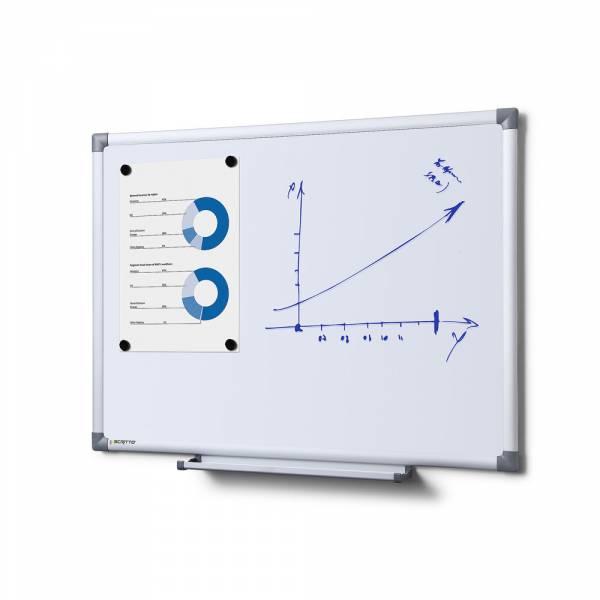 Emaliowana, magnetyczna tablica suchościeralna 60x45 cm
