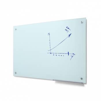Szklana tablica suchościeralna 90x120 odcień mleczny
