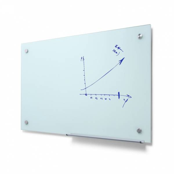 Szklana tablica suchościeralna 60x90 odcień mleczny