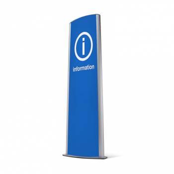 System informacyjny - Totem 2x70x100 cm