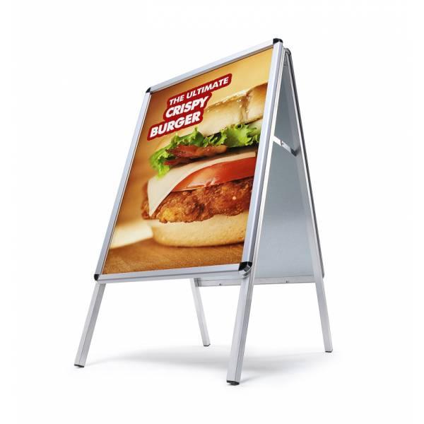 Potykacz reklamowy 70x100cm, profil 32mm, narożniki zaokrąglone