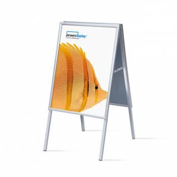 Potykacz reklamowy 50x70cm, profil 20mm, narożniki ostre
