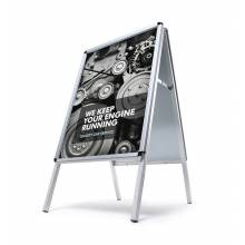 Potykacz reklamowy A1, profil 32mm, narożniki zaokrąglone - wodoodporny