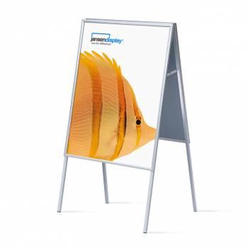 Potykacz reklamowy 70x100cm, profil 20mm, narożniki ostre