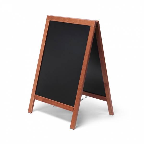 Ekonomiczny potykacz drewniany 55x85 / jasny brąz