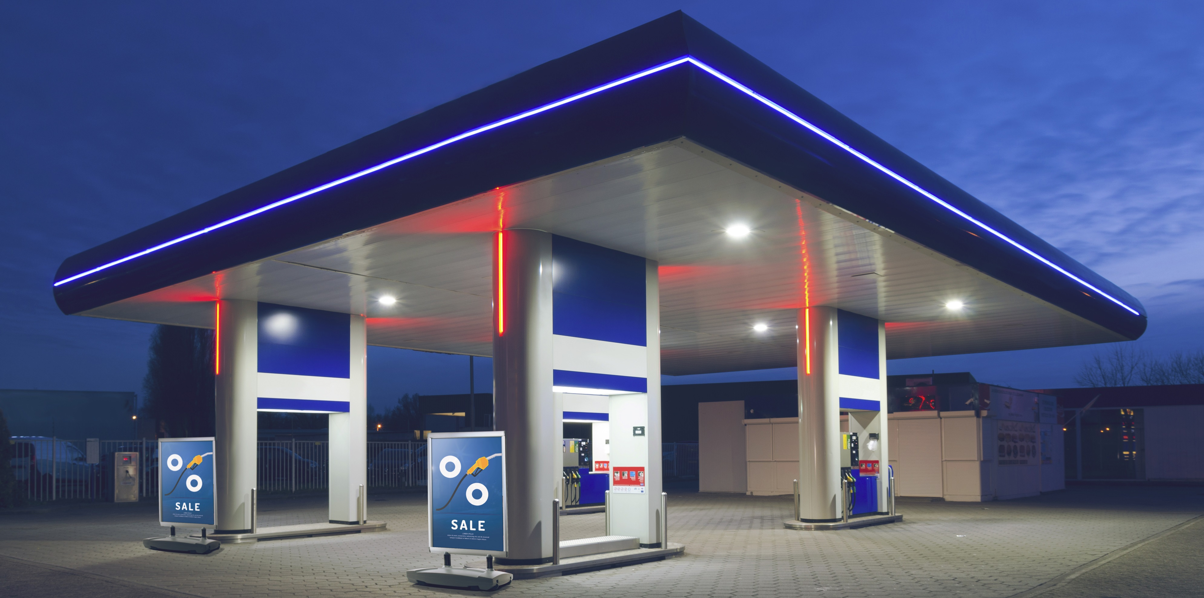 stacja benzynowa